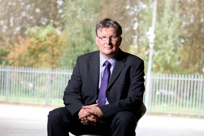 Jocko Rensen (zittend)